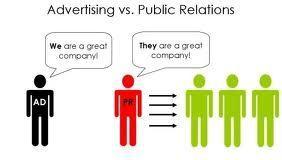 quảng cáo khác pr chổ nào