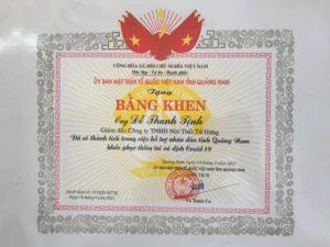 Bang Khen Do Thanh Tinh